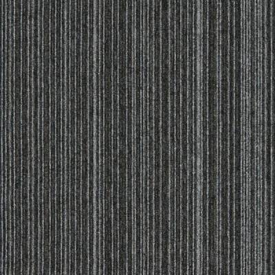 Interface Output Lines Carpet Tiles - Iron