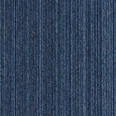 Interface Output Lines Carpet Tiles - Prussian