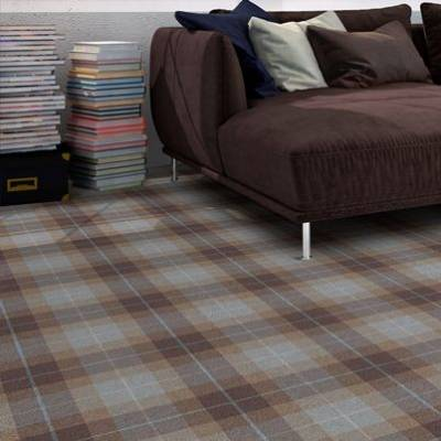 JHS Park Royal Exclusive Wilton Carpet - Pastel Tartan