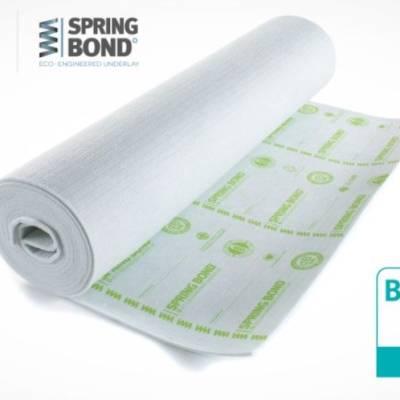 Texfelt Spring Bond 9mm Luxury Eco Engineered Underlay - 15m2 Bag