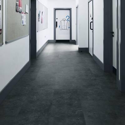 Lifestyle Floors Colosseum Large Tiles (914mm x 457mm) - Obsidian Slate