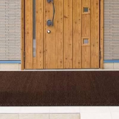 Dark Brown Coir Matting (1m & 2m wide)