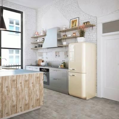 Luvanto Design Stone Tiles - 305mm x 610mm - Weathered Concrete
