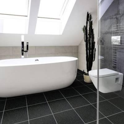 Luvanto Design Sparkle Tiles (305mm x 305mm) - Black Sparkle