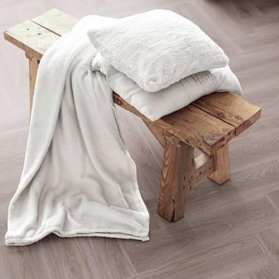 Luvanto Herringbone Small Planks (76.20mm x 304.80mm) - Pearl Oak