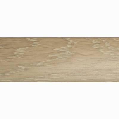 Parallel Solid Oak Trims - End Profile (990mm Long) - Pebble Matt
