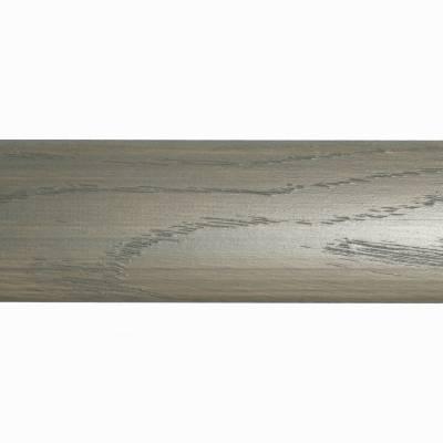Parallel Solid Oak Trims - End Profile (990mm Long) - Grey Mist