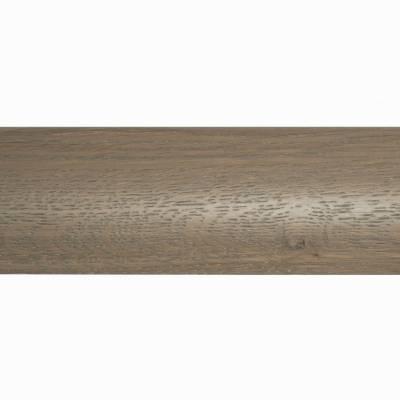 Parallel Solid Oak Trims - Ramp Profile (990mm Long) - Mole Grey