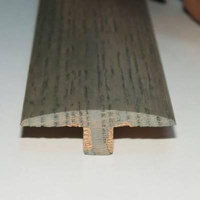 Parallel Solid Oak Trims - Twin Profile (990mm Long) - Grey Mist