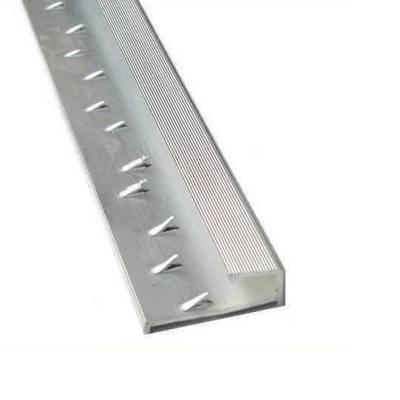Square Edge Door Bar - Silver (900mm Long)