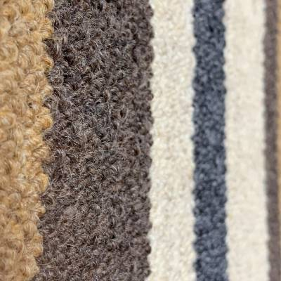 Wool Stripe - Chunky 100% Wool Loop (2m x 4m)