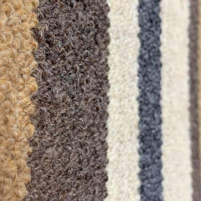 Wool Stripe - Chunky 100% Wool Loop (2m x 4m)