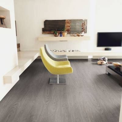 QA Flooring Clearance Luvato Wood Planks - 914mm x 152mm - Various Designs - Washed Grey oak