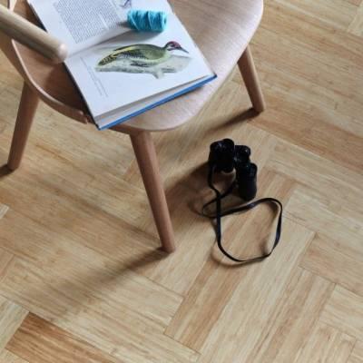 Woodpecker Oxwich Herringbone Bamboo Flooring - Herringbone Natural strand