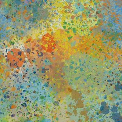 Sarlon Colour Vinyl - Multi Color Splash