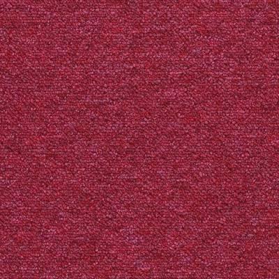 Tessera Layout & Outline Carpet Tile Planks - Maraschino